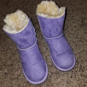 Purple lilac lavender ugg style boots